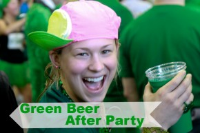 After Party Green Beer Leprechaun Chase 10k