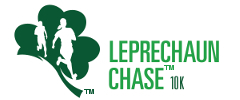 Leprechaun Chase 10K | St Paddy's Day Run logo